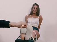 Leya feet tickle 1