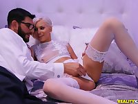 Romantic Kiara Cole likes to fuck in all possible poses with her lover