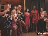 Sensual host welcomes new american swingers