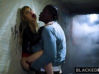 BLACKEDRAW Ivy Wolfe Gets BIG BLACK DICK In Every Corner Of The City