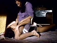Incredible lesbian classic movie with Karen Summer and Tina Ronie