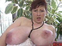 Big cans MILF mating and money shot