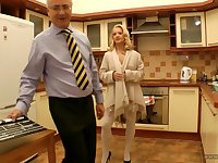 Getting Kinky In The Kitchen - Xozilla Porn Movies