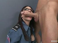 Office fucking on the floor and table with secretary Cytherea